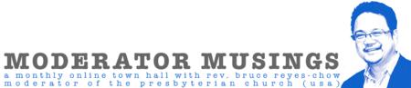 Bruce Reyes-Chow Moderator Musings