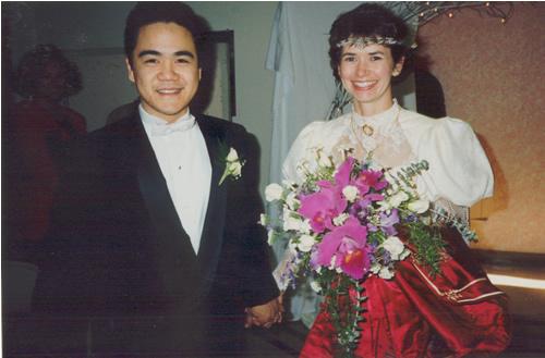 Bruce Reyes-Chow and Robin Pugh Wedding