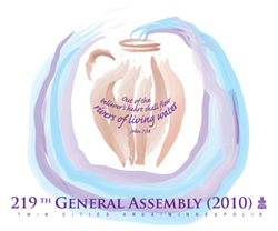 Logo for the 219th General Assembly of the Presbyterian Church (USA)